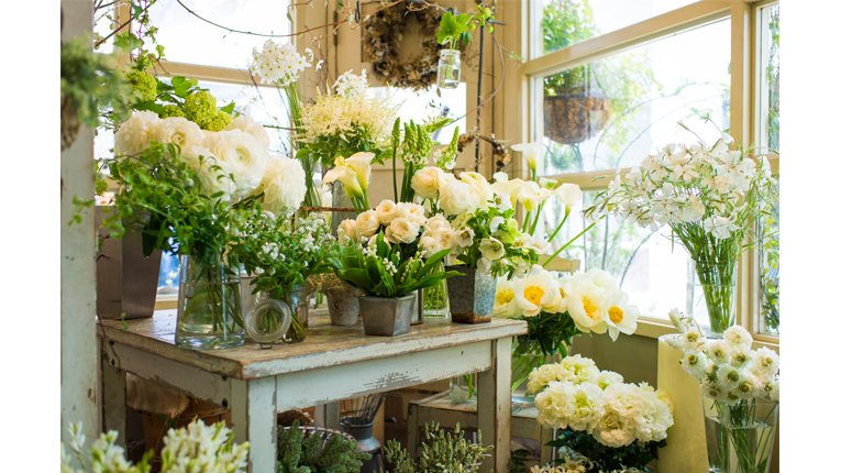 The Perfect Gift Five Flower Shops And Their Beautiful